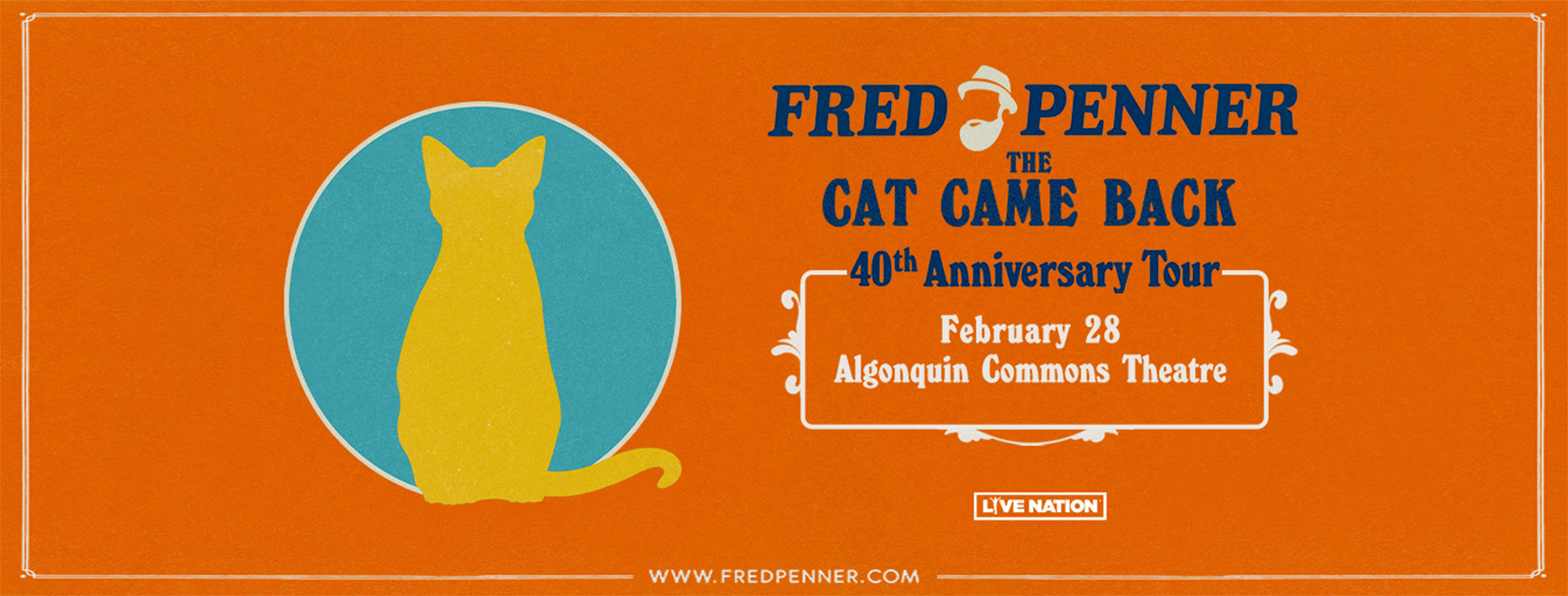 Fred Penner: The Cat Came Back 40th Anniversary Tour